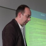 Varjú Viktor előadása a Magyar Regionális Tudományi Társaság XIII. Vándorgyűlésén, Egerben, 2015. november 20-án