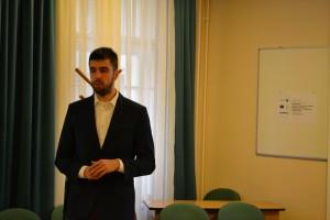 Koós Bálint előadása Sopronban